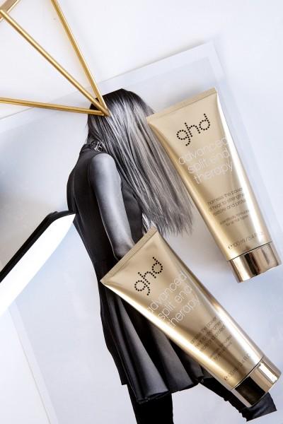 advanced split end therapy - hajterápia a töredezett hajvégek ellen ghd hajvasalók, ghd hajszárítók